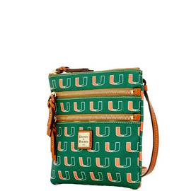 Miami Triple Zip Crossbody