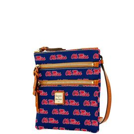 Ole Miss Triple Zip Crossbody