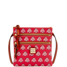 Ohio State Triple Zip Crossbody