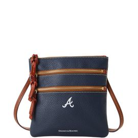 Braves N S Triple Zip Crossbody