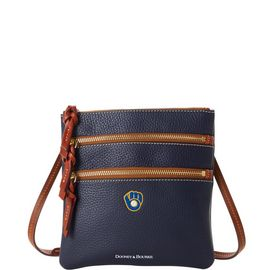 Brewers N S Triple Zip Crossbody