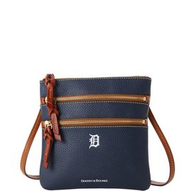 Tigers N S Triple Zip Crossbody