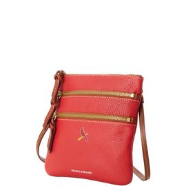 Cardinals N S Triple Zip Crossbody