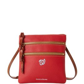 Nationals N S Triple Zip Crossbody
