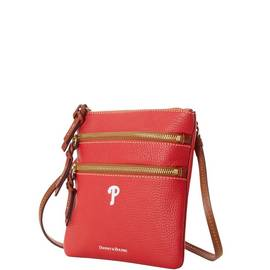Phillies N S Triple Zip Crossbody