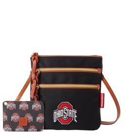 Ohio State N S Triple Zip w ID Holder product