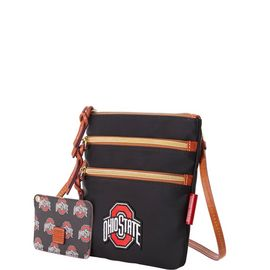 Ohio State N S Triple Zip w ID Holder