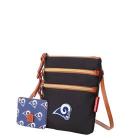 Rams N S Triple Zip w ID holder product Hover