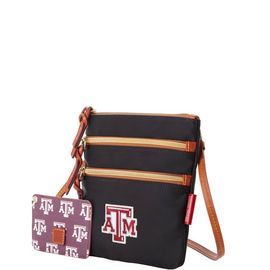 Texas A&M N S Triple Zip w ID holder product Hover