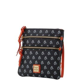 Orioles Triple Zip Crossbody