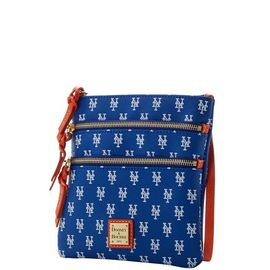 Mets Triple Zip Crossbody