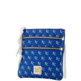 Royals Triple Zip Crossbody