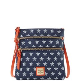 Astros Triple Zip Crossbody