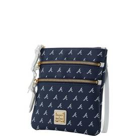 Braves Triple Zip Crossbody