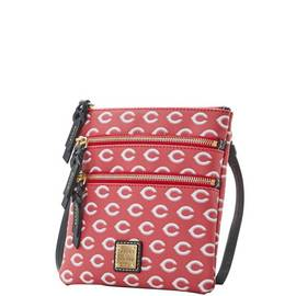 Reds Triple Zip Crossbody