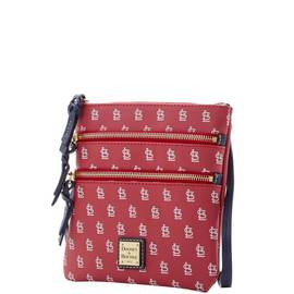 Cardinals Triple Zip Crossbody