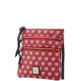 Nationals Triple Zip Crossbody