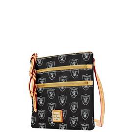 Raiders Triple Zip Crossbody
