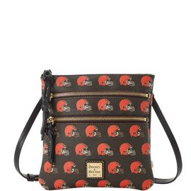 Browns North South Triple Zip