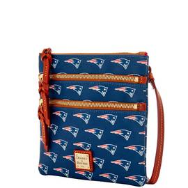 Patriots Triple Zip Crossbody