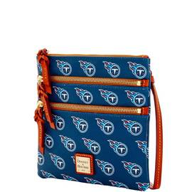 Titans Triple Zip Crossbody
