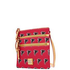 Falcons Triple Zip Crossbody