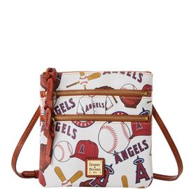 Angels N S Triple Zip Crossbody