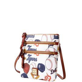 Tigers N S Triple Zip Crossbody product Hover