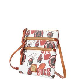 Buccaneers N S Triple Zip Crossbody