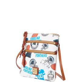 Panthers N S Triple Zip Crossbody product Hover