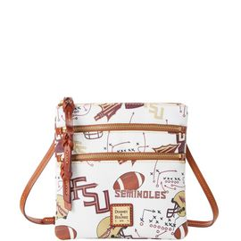 Fla State N S Triple Zip Crossbody product