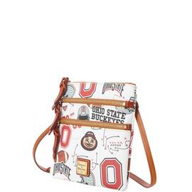 Ohio State N S Triple Zip Crossbody product Hover