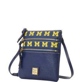 Michigan Triple Zip Crossbody