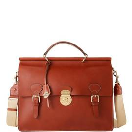 Double Gusset Buckle Briefcase product