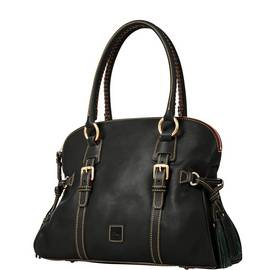 Domed Buckle Satchel product Hover