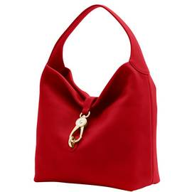 Logo Lock Shoulder Bag