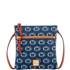 Penn State Double Zip Crossbody