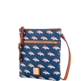 Broncos Double Zip Crossbody