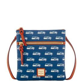 Seahawks Double Zip Crossbody