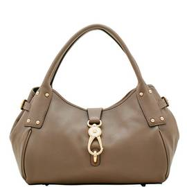 Medium Logo Lock Satchel