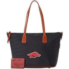 Arkansas Top Zip Tote