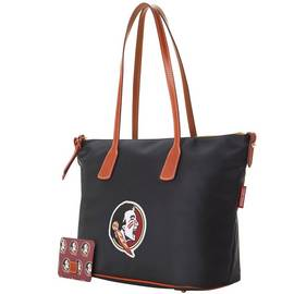 Fla State Top Zip Tote
