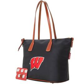 Wisconsin Top Zip Tote