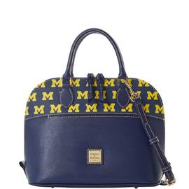 Michigan Zip Satchel