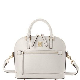 Small Domed Zip Satchel product