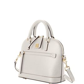 Small Domed Zip Satchel product Hover