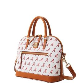 Alabama Domed Zip Satchel product Hover