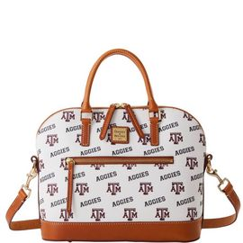 Texas A&M Domed Zip Satchel product