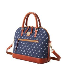 Braves Domed Zip Satchel product Hover