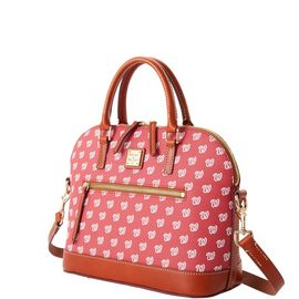 Nationals Domed Zip Satchel product Hover